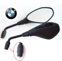SPECCHIETTI SPECCHI M10 1,50mm per BMW R1200GS ADV 2005 - 2010 nero ANTIRIFLESSO