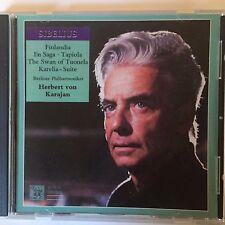 Sibelius: Finlandia, En Saga, Tapiola, Swan of Tuonela, Karelia - Karajan/Berlin