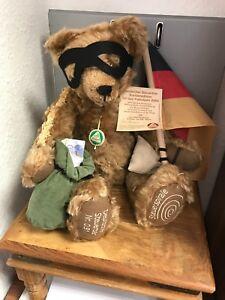 Hermann Teddy Bear German Steuerbär 16 1/2in Limited Unbespielt. Top Condition