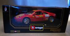 6749:Bburago Ferrari 348tb,1989,1:18,rot Nr.177,Diamonds Coll.,Mod.:3039,in OVP.