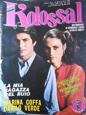 Rivista di Fotoromanzi - KOLOSSAL n°113 1983 Marina Coffa Danilo Verde  [G315]