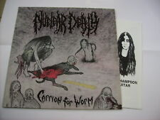 NUCLEAR DEATH - CARRION FOR WORM - LP VINYL NEW UNPLAYED 1991