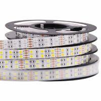 Double Row LED Strip Light 5M 5050 600Led RGB Warm White Waterproof Flexible 12V
