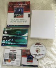 GABRIEL KNIGHT - SINS OF THE FATHERS BIG BOX VERSION for PC RARE by Sierra
