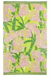 "NWOT Lilly Pulitzer for Target Beach Towel - Pink ""Fan Dance"" Pattern 40"" x 72"""