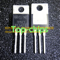 10PCS MC7815CT New Best Offer IC REG LDO 15V 1A TO220AB