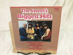 The Sweet ‎– The Sweet's Biggest Hits  /  Vinyl LP