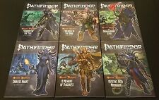 Pathfinder Adventure Path SECOND DARKNESS Complete Lot of 6 Paizo D&D 3.5 SW NEW