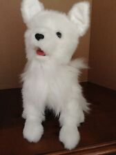 Hasbro Furreal Friends Scamps  My Playful Pup White Dog 74565