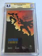 Batman The Dark Knight Returns #4 (1st Printing) SS CGC 8.5 Signed Klaus Janson