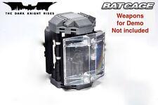 (No weapon/minifig) upgraded custom BATCAVE Batman Dark knight v2 7783 6860 CAGE