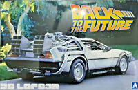 De Lorean Ritorno al Futuro  Back to the Future Part - Aoshima Kit 1:24