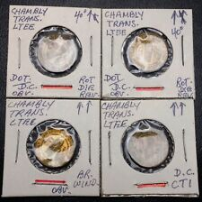 Lot of 4x Chambly Transportation Bus Tokens - Multiple Varieties & Die Errors