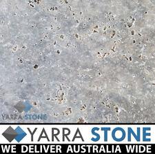 Silver Travertine 610x406x12mm Tumbled edge Tile / Travertine Paver