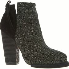 BNIB Jeffrey Campbell Who's Next Black & White Speck Ankle Boots Size EU 39 £150