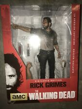 "McFarlane Walking Dead TV 9 - VIGILANTE RICK GRIMES DELUXE 10"" Figure - IN STOCK"