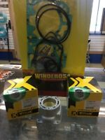 2003-2010 Ski-doo 600 H.O. 72mm, Top End Kit, Pistons, Gaskets, Pro-X, Duel Ring