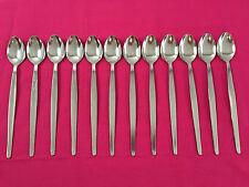 SODA SPOON PACK OF 12 Sundae Long Teaspoon Parfait Iced Coffee Cafe Cutlery