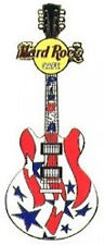 Hard Rock Cafe 2007 PIN USA Special Event GUITAR Promotional STARS STRIPES 39996