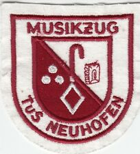 NEUHOFEN GERMANY MUSIKZUG - 1980s Vintage WEST GERMAN MUSIC GROUP PATCH