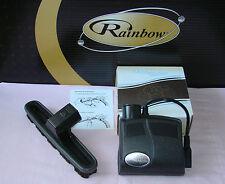 RAINBOW VACUUM RAINBOWMATE + FLOOR BRUSH * MID SIZE POWER NOZZLE *  RAINBOW MATE