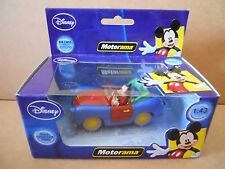 Auto Topolino Mickey Mouse Car 113 1:43 Motorama Die Cast [MV13]