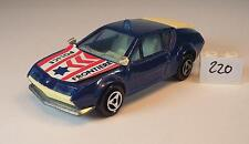 MAJORETTE 1/55 Nº 264 RENAULT ALPINE A 310 POLICE FRONTIERE police #220