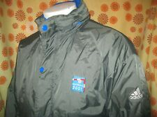 Ancienne VESTE PARKA ADIDAS HANDBALL 2001 GRIS TXL Hand Ball Jacket Maillot FFHB