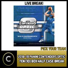 2018-19 Caja de 10 óptica PANINI CONTENDERS caso romper #B474 - Elige Tu Equipo -