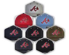 "Atlanta Braves ""FLEX FIT"" CAP ✨HAT ✨MLB PATCH/LOGO ✨2 SIZES ✨8 HOT COLORS ~NEW"