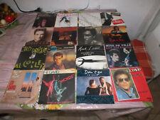 "34 Singles 80er Pop / Italo Disco / Disco / Rock Soul  80er Hits / Oldies 7"""