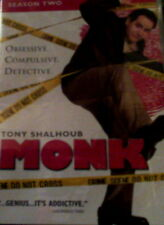 MONK The COMPLETE SEASON TWO 16 Episodes + Special Features 4-Disc Set SEALED