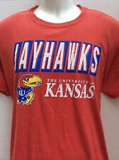 University of Kansas Jayhawks heather red T-Shirt Sz M Lawrence KS new NWOT