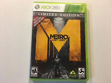 Xbox 360 Metro Last Light game Excellent Condition Complete Deep Silver