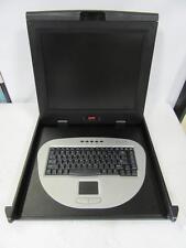 "APC AP5017 17"" LCD Rackmount 1U Touchpad Keyboard Server Console"