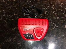 New Milwaukee C12C Charger 12V Lithium-Ion Batteries Only (Ac 220V) Power Tools