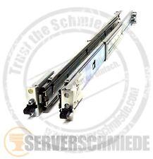 """IBM 19"""" x3550 x3650 M4 Rackschienen Rack Rails Vollauszug 00D3963 1HE 1U"""