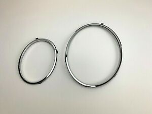 Bentley Bentayga Left Headlight Chrome Trim Ring Set