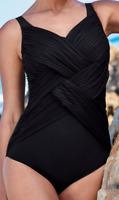 Anita BLACK Aileen One Piece Swimsuit, US 34F, UK 34E