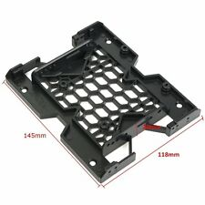 """1PCS 5.25"""" to 3.5"""" 2.5"""" SSD Hard Drive Adapter TRAY with Screws can mount Fan CK"""