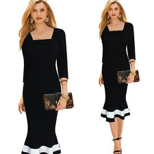 New Women Slim Bodycon Evening Gown Party Cocktail Mermaid Formal Pencil Dress