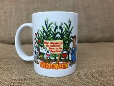 What Happens in the Cornfield Stays In The Cornfield Wisconsin Coffee Mug
