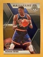 2019-20 Panini Mosaic Patrick Ewing Hall Of Fame #289 - MINT! WOW!! MUST SEE!!!