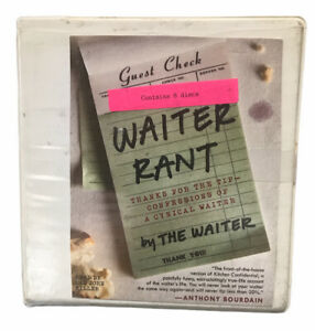 Waiter Rant: Thanks for the Tip - Confessions of a Cynical Waiter Former Library