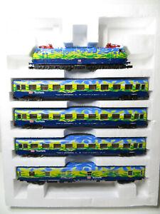 245N - Arnold 0307 - Touristikzug 4 tlg. mit Elok E 103 der DB AG - top in OVP