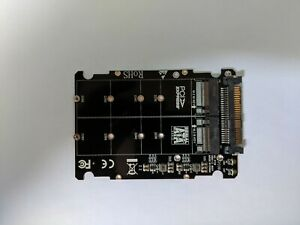 ADATTATORE M.2 SSD / U.2 DUE IN UNO NVMe e SATA