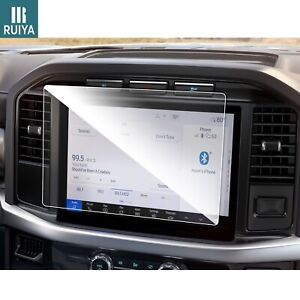 RUIYA Car Touchscreen Protector Tempered Glass Film 12-inch For 2021 Ford F-150