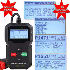 FORD CAR FAULT CODE READER ENGINE SCANNER DIAGNOSTIC RESET TOOL OBDII