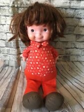 Vintage 70s Fisher Price Lap Sitter Red Head Doll Freckles Tlc