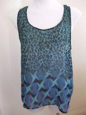 Ladies ASOS Green Sleeveless Top Size 12 (US8/EU40/UK12)